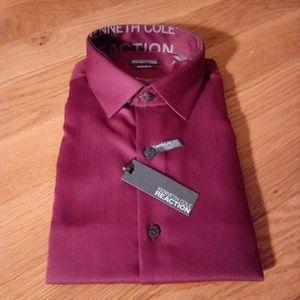 """🆕List Men's NWT KCR """"Chianti"""" LS Dress Shirt"""